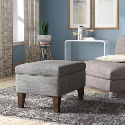 Remarkable Winston Porter Zaylee Storage Ottoman Color Grey Squirreltailoven Fun Painted Chair Ideas Images Squirreltailovenorg