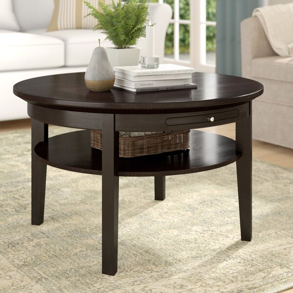 Winston Porter Wood Top Coffee Tables