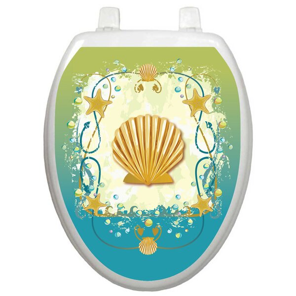 Themes Shell Game Toilet Seat Decal by Toilet Tattoos