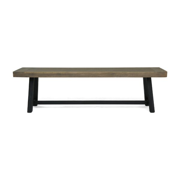 Lafrance Outdoor Wooden Bench By Gracie Oaks