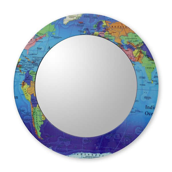 Around the World Accent Mirror by Novica