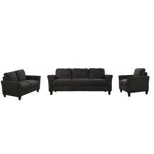 Euva 3 Piece Living Room Set by Red Barrel Studio®