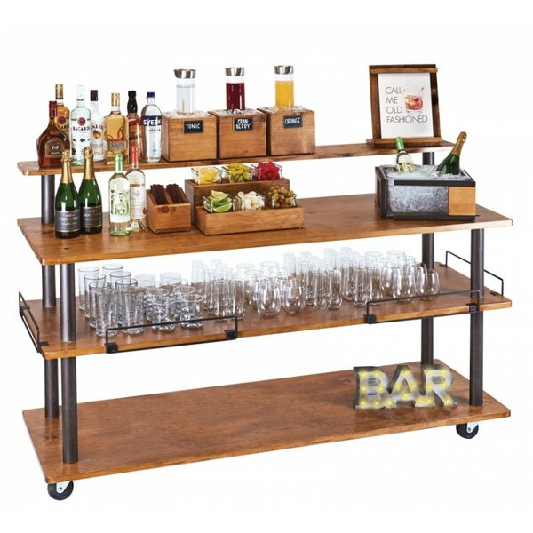 Deavers Bar Cart Shelf by Red Barrel Studio