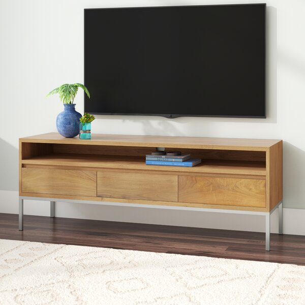 Rayna Solid Wood TV Stand For TVs Up To 70