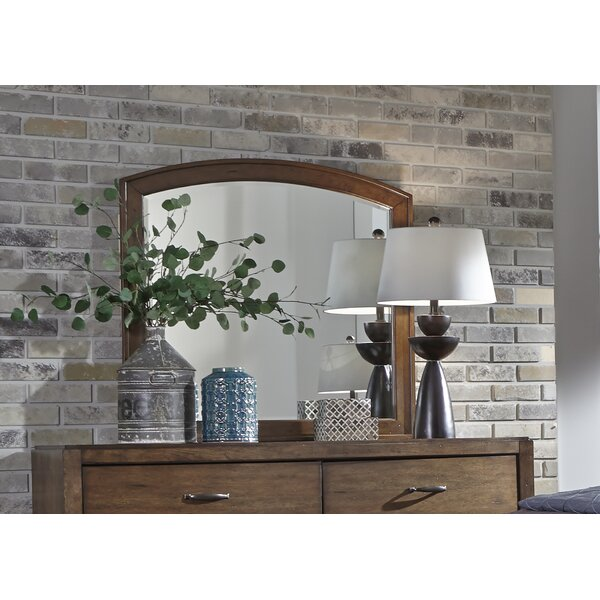 Aranson Arched Dresser Mirror by Darby Home Co