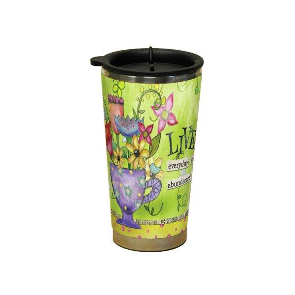 Inez Color My World Live Travel Mug by August Grove