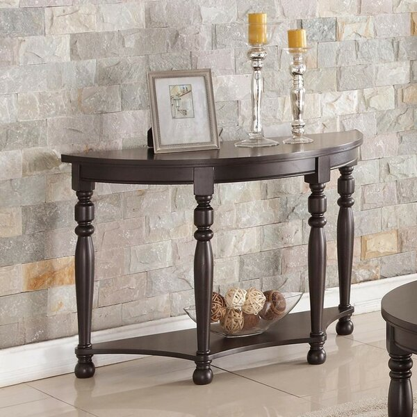 Gladys Wooden Console Table by Fleur De Lis Living