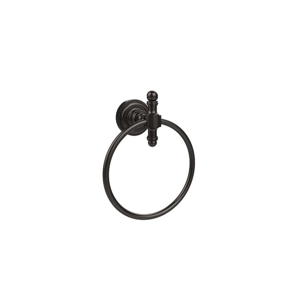 Universal Wall Mounted Dot Towel Ring by Allied Brass