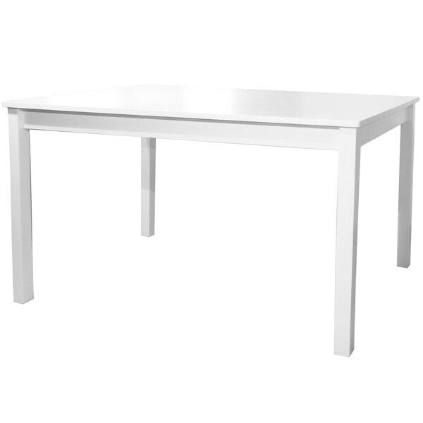 Jocelyn Single Solid Wood Dinner Table by Red Barrel Studio