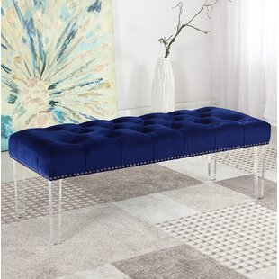 Clearance Stockbridge Upholstered Bedroom Bench ByHouse of Hampton