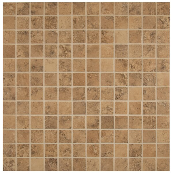 Venice 2 x 2 Porcelain Mosaic Tile in Noche by MSI