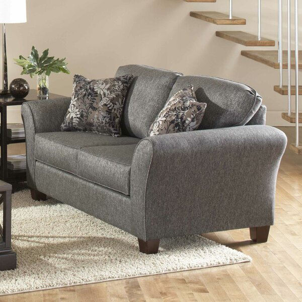 In Vogue Westbrook Loveseat by Alcott Hill by Alcott Hill
