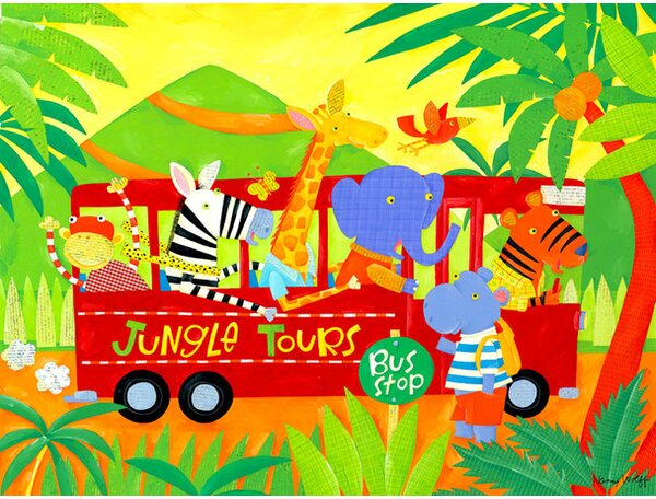Jungle Tours Canvas Art by Oopsy Daisy