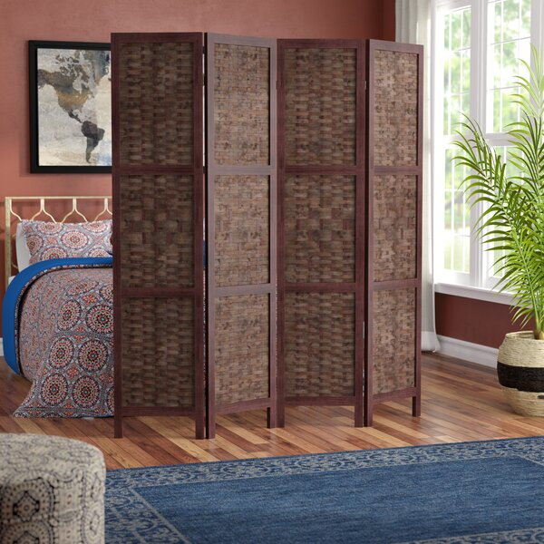 Collins 4 Panel Room Divider by World Menagerie