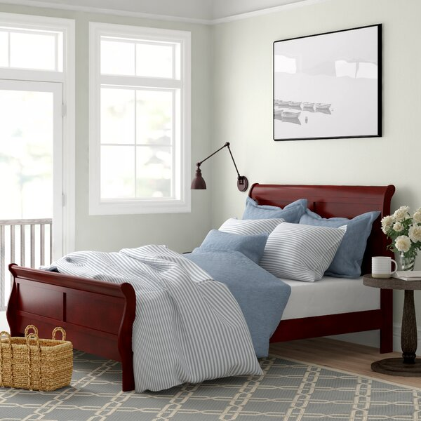 Ashdown Sleigh Standard Bed by Three Posts