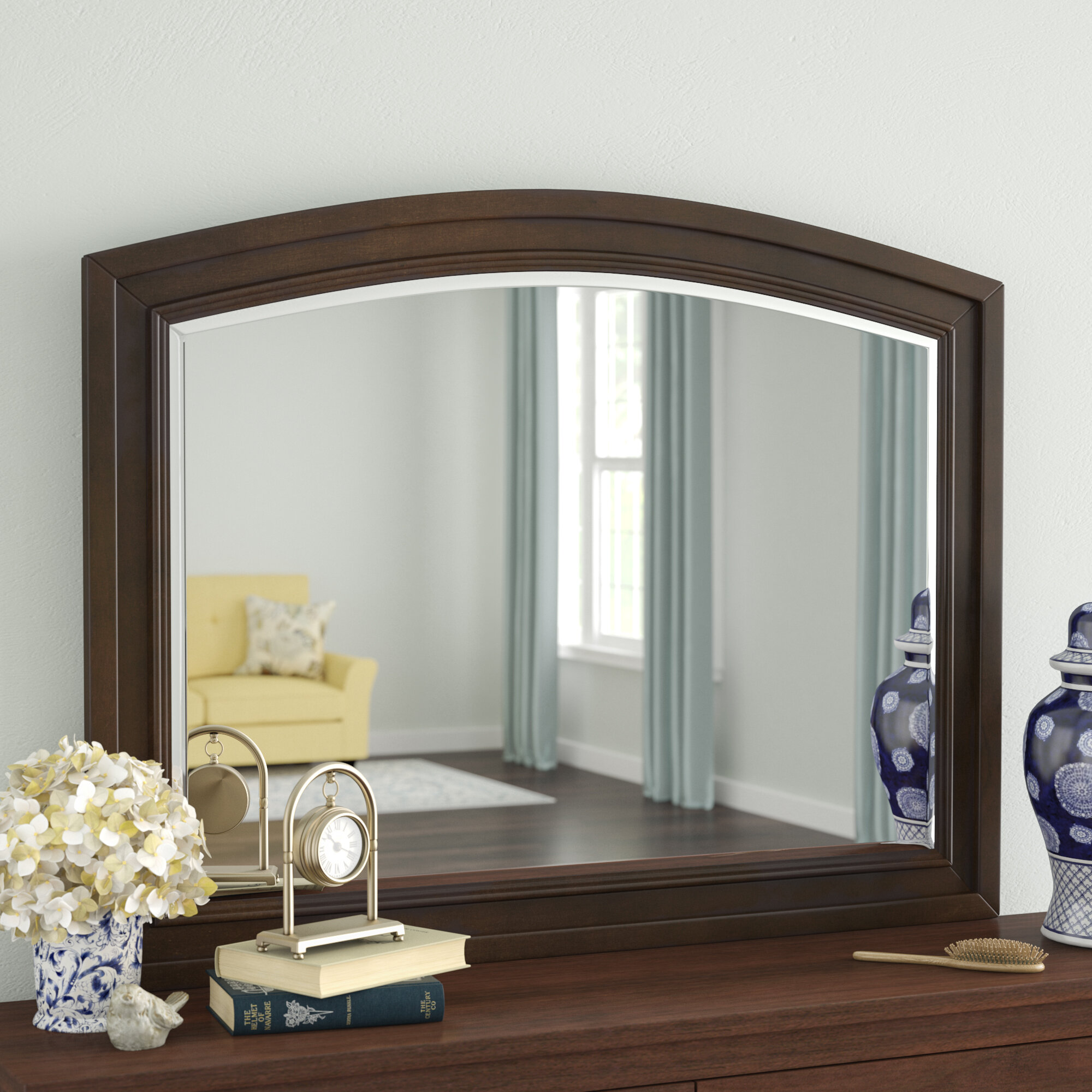 Darby Home Co Beadling Arched Dresser Mirror | Wayfair
