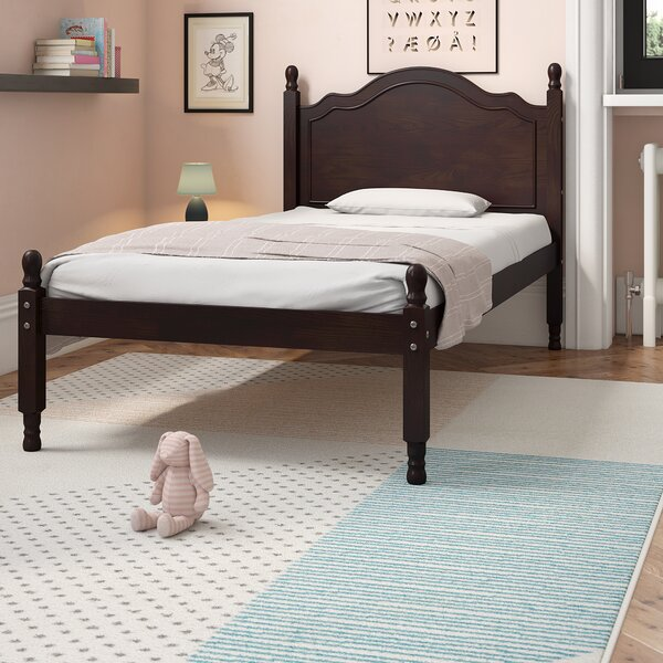 Forbush Reston Four Poster Bed by Harriet Bee