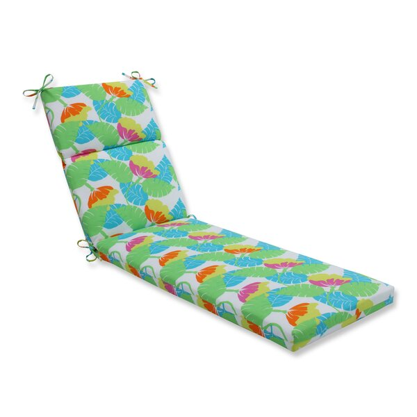 Avia Indoor/Outdoor Chaise Lounge Cushion by Pillow Perfect