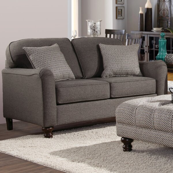 Shop The Complete Collection Of Serta Upholstery Bilbrook Loveseat by Three Posts by Three Posts