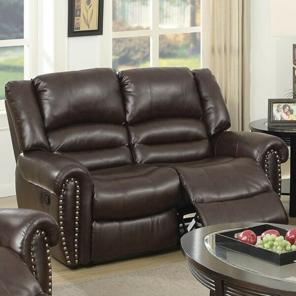 Internet Order Sabin Reclining Loveseat by Charlton Home by Charlton Home
