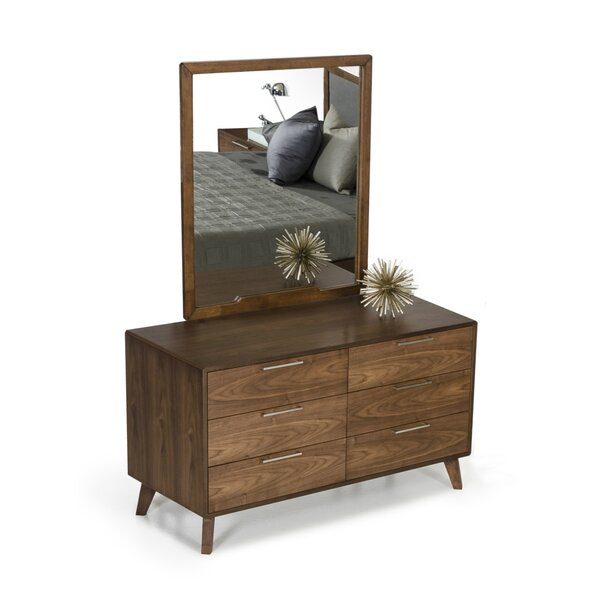 Hali Rectangular Dresser Mirror by Langley Street