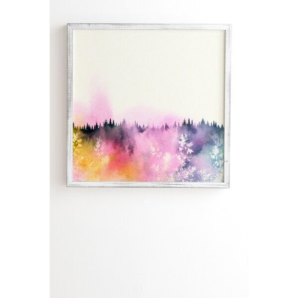 Dreaming of You Framed Painting Print by East Urban Home