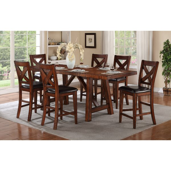 Corvallis 7 Piece Extendable Dining Set by Loon Peak