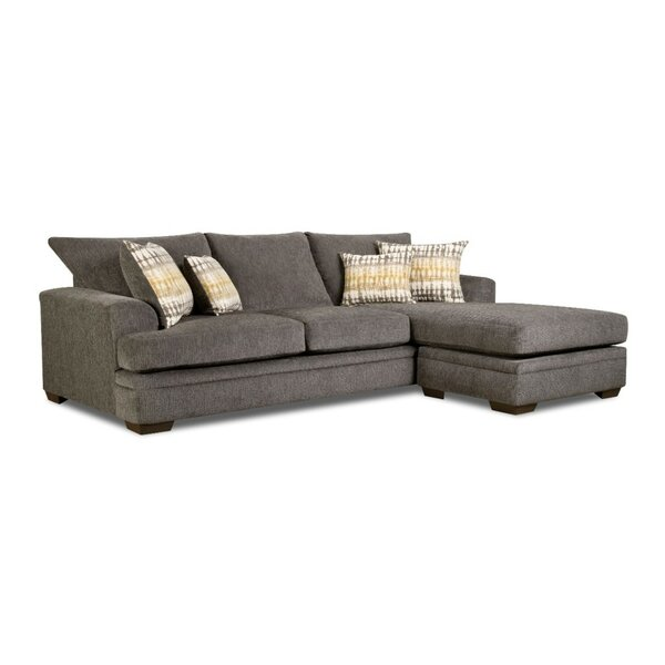 Walthall Sofa Chaise Reversible Sectional by Brayden Studio