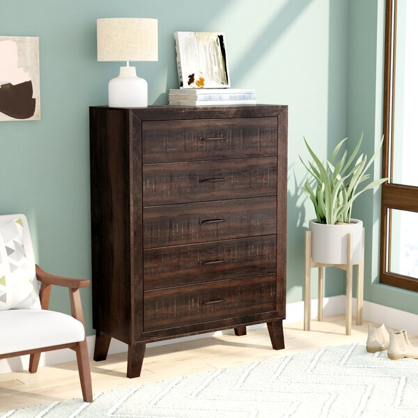 Dory 5 Drawer Chest by Modern Rustic Interiors