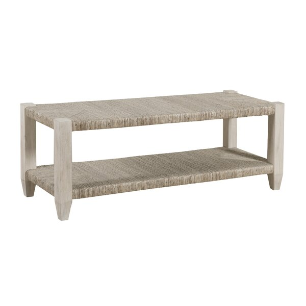 Graphite Wicker Bench by Panama Jack Home