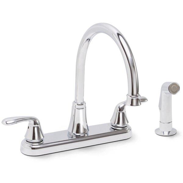 Waterfront Double Handle Kitchen Faucet by Premier Faucet