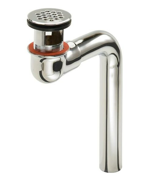 Flat Plated 1.25 Pop-Up Kitchen Sink Drain by Just Manufacturing