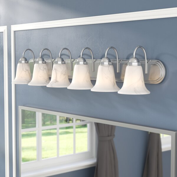 Tiverton Strip 6-Light Vanity Light by Three Posts