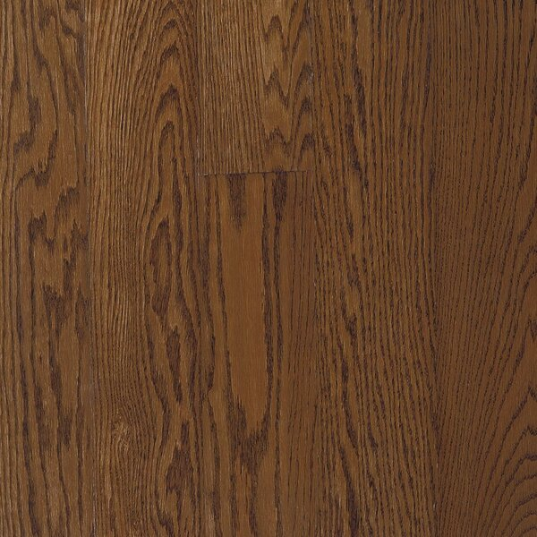 Fulton 2-1/4 Solid Red / White Oak Hardwood Flooring in High Glossy Saddle by Bruce Flooring
