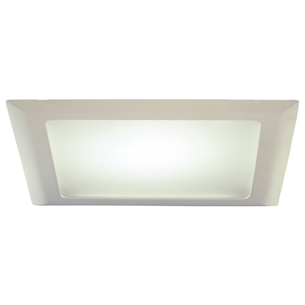 20 Series Square Albalite Lens 10.5 Open Recessed Trim by Halo