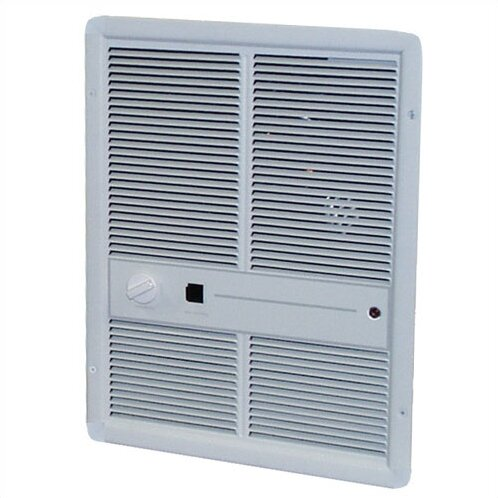 4,000 Watt Wall Insert Electric Fan Heater with Summer Fan Forced Switch by TPI
