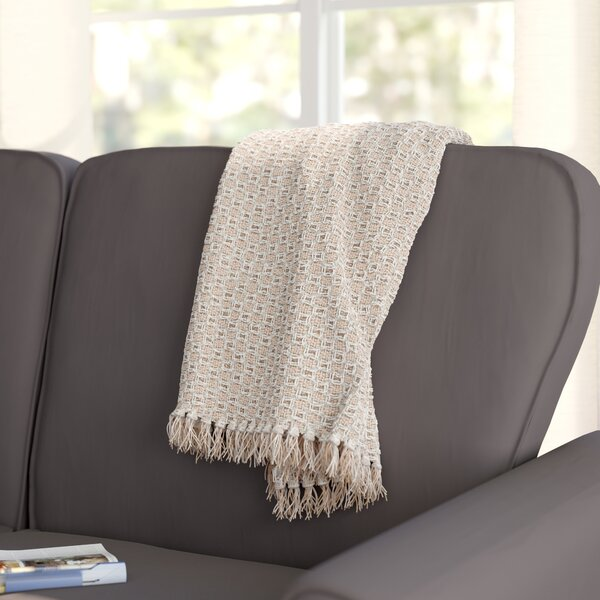 Bedoya Cotton Throw Blanket by Mercury Row