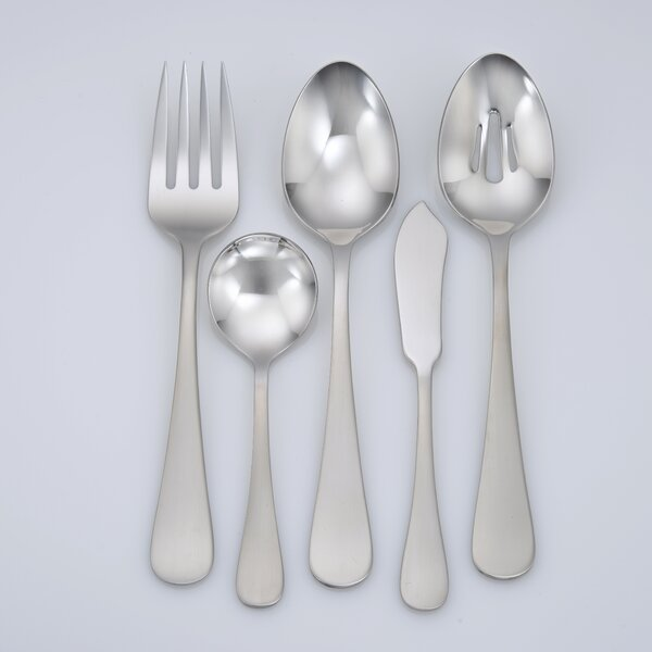 Annapolis 45-Piece Flatware Set by Liberty Tabletop