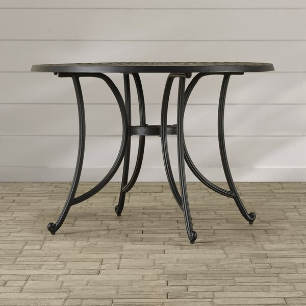Carmen Aluminum Dining Table by Sol 72 Outdoor