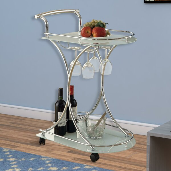 Bentson Dazzling Bar Carts by House of Hampton House of Hampton