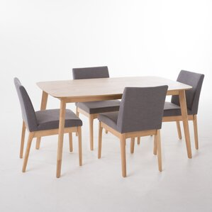 Modern Dining Room Tables And Chairs modern dining room sets you'll love | wayfair
