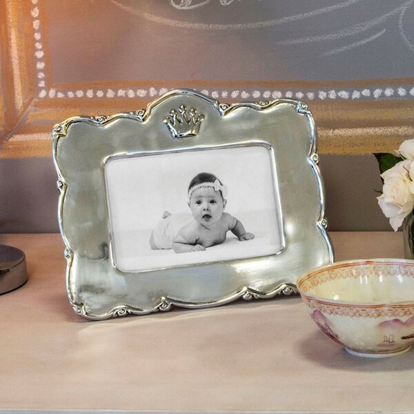 Baby Princess Crown Picture Frame (Set of 2) by Beatriz Ball