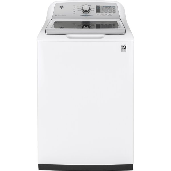 Stainless Steel 5 cu. ft. Top Load Washer by GE Appliances