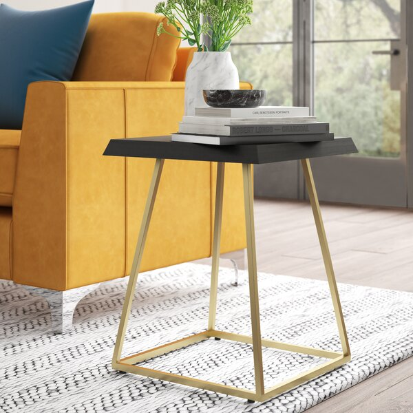 Mcfall Square Frame End Table By Mercury Row
