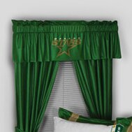 NHL Dallas Stars 88 Curtain Valance by Sports Coverage Inc.