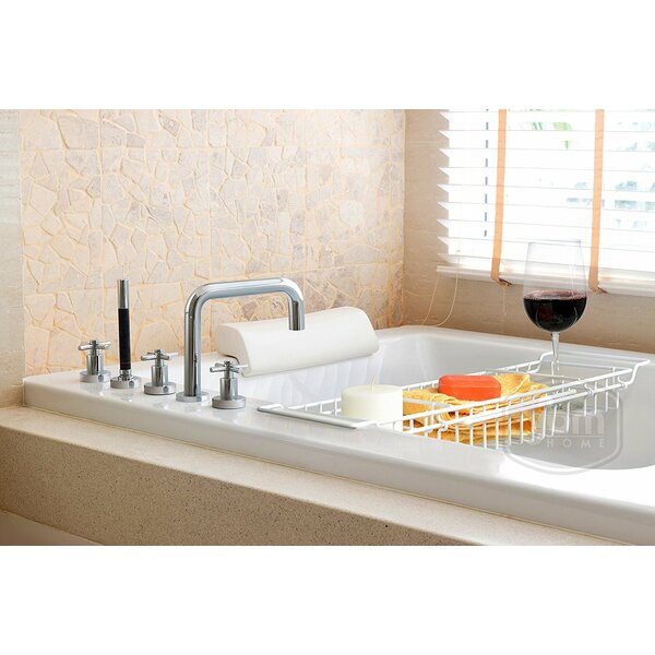 Extending Sides Shower Caddy by Rebrilliant