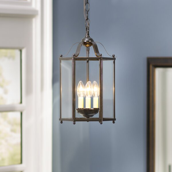 Leiters 3-Lights Foyer Pendant by Charlton Home