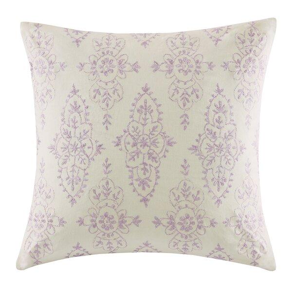 Florentina Square Cotton Throw Pillow by Echo Design™