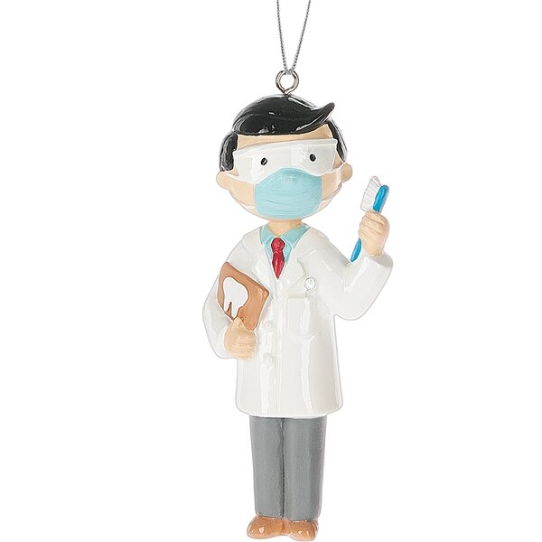 Decorative Dentist Hanging Figurine by The Holiday