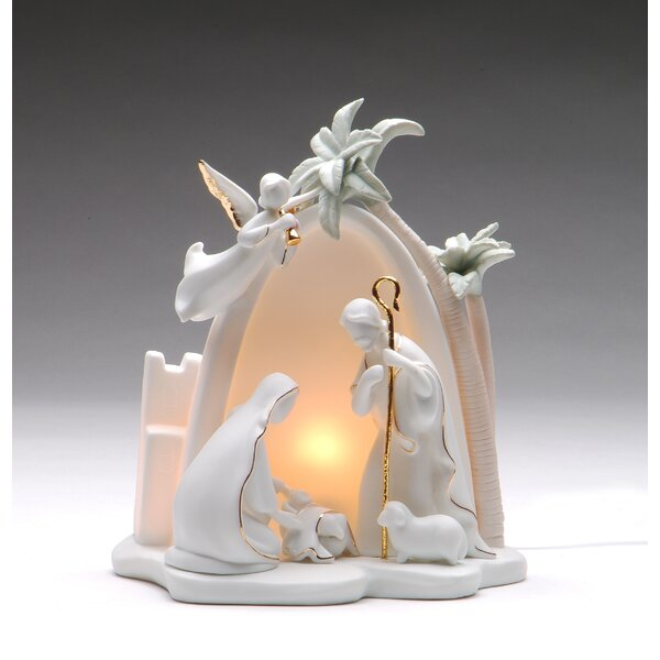 Bethlehem Holy Family Night Light by Cosmos Gifts